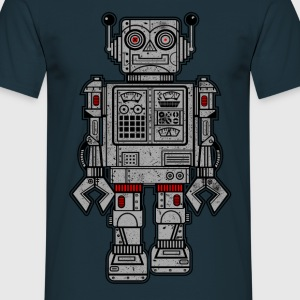 Retro Robot Toys - Men's T-Shirt