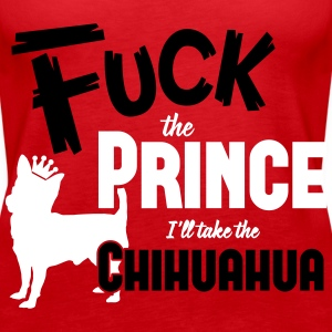 Dog shirt: I'll take the Chihuahua Toppe - Dame Premium tanktop