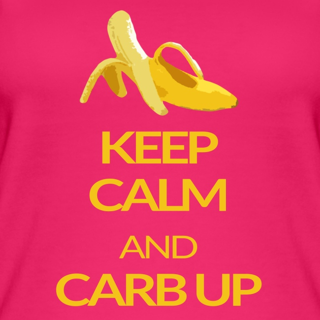 KEEP CALM and CARB UP girls _sport