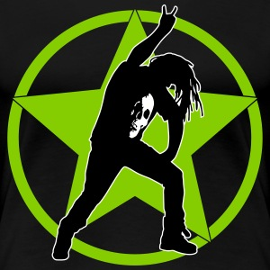 metal_fan_headbanger_112015_a_3c T-Shirts - Frauen Premium T-Shirt