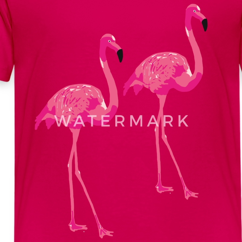 Kinder t-shirt 'Flamingo buddies'  - Kinderen Premium T-shirt