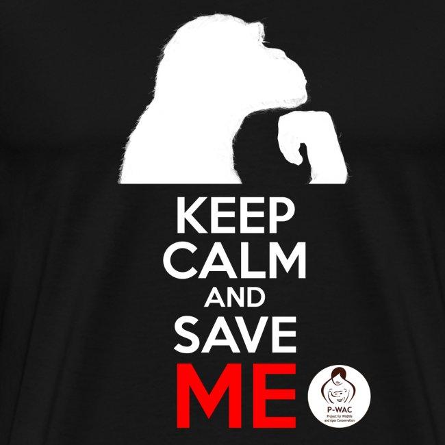 design_keep calm_blanc.png Tee shirts