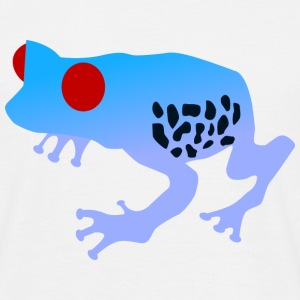 Blue Tree Frog - Herre-T-shirt