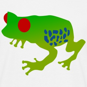 Green tree frog - Herre-T-shirt
