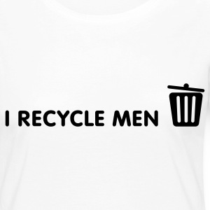 I Recycle Men Long Sleeve Shirts - Women's Premium Longsleeve Shirt