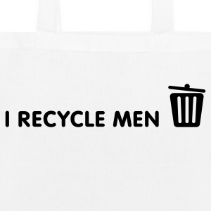 I Recycle Men Bags & Backpacks - EarthPositive Tote Bag