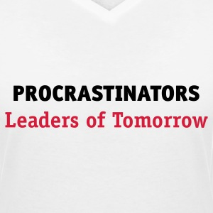 Retardataires: leaders de demain! Tee shirts - T-shirt col V Femme