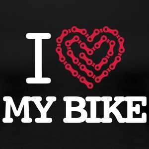 I Love My Bike T-Shirts - Women's Premium T-Shirt