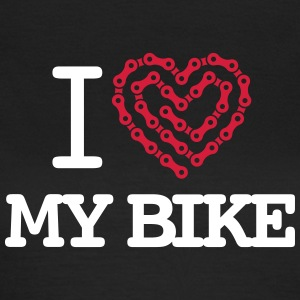 I Love My Bike T-Shirts - Women's T-Shirt