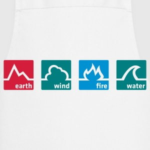 Earth Wind Fire Water  Aprons - Cooking Apron