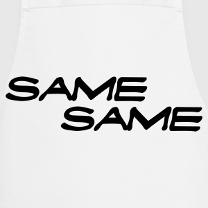 The same the same  Aprons - Cooking Apron