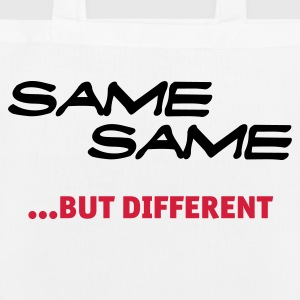 same same, but different Bags & Backpacks - EarthPositive Tote Bag