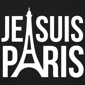 Je suis Paris. black - Männer T-Shirt