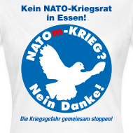 Motiv ~ NATOm-Krieg Nein danke W