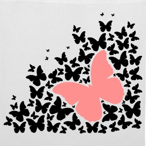 A silhouette of butterflies Bags & Backpacks - Tote Bag