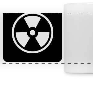 Attention: Radioactive Bouteilles et Tasses - Tasse panorama