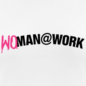 Woman at work T-shirts - Andningsaktiv T-shirt dam