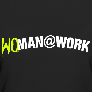 Woman at work T-shirts - Vrouwen Bio-T-shirt