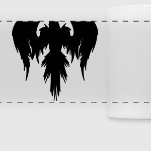 A large Crow Mugs & Drinkware - Panoramic Mug