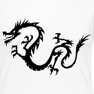Chinese Dragon Long Sleeve Shirts - Women's Premium Longsleeve Shirt