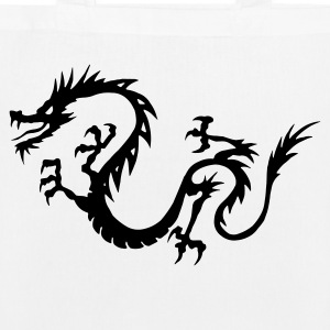 Chinese Dragon Bags & Backpacks - EarthPositive Tote Bag