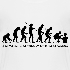 De evolutie van de mens Shirts - Teenager Premium T-shirt