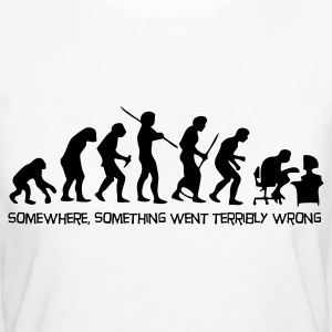 The evolution of man T-Shirts - Women's Organic T-shirt