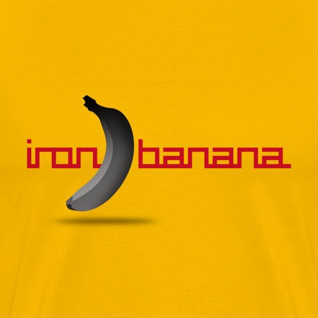 Iron Banana Logo Premium Women's Tee