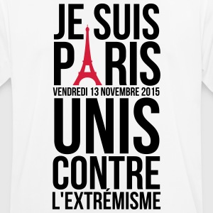 I'm Paris together against extremism terror T-Shirts - Men's Breathable T-Shirt