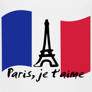 Paris, France - je t'aime T-shirts - Premium-T-shirt barn