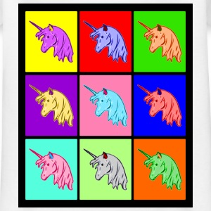 Pop Art Einhorn, Pop Art Unicorn Shirts - Kinderen T-shirt