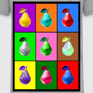 Pop Art Birne, Pop Art Pear Tee shirts - T-shirt Premium Enfant