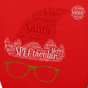 SPECtacular Santa with SPECS patjila Bags & Backpacks - EarthPositive Tote Bag
