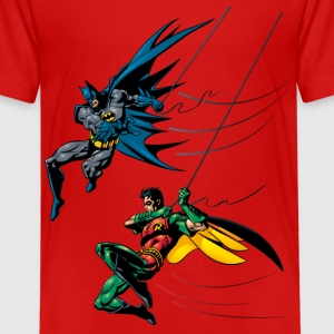 Batman and Robin Kinder T-Shirt - Teenager Premium T-Shirt