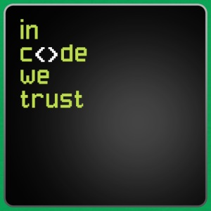 In Code We Trust T-Shirts - Men's T-Shirt