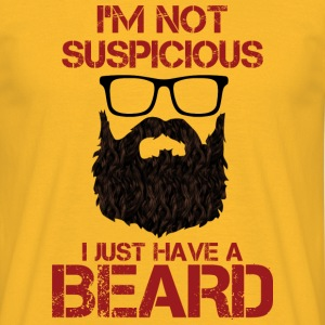 I'm Not Suspicious T-Shirts - Men's T-Shirt