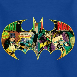 Batman Logo Comic teenager T-shirt - Teenager T-shirt