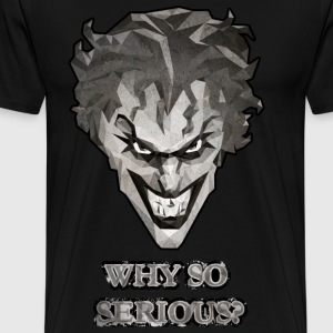 Joker - Why so serious herre T-shirt - Herre premium T-shirt