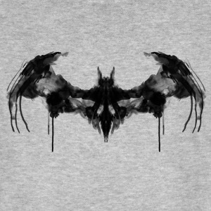 Batman Logo Dark T-skjorte for menn - Økologisk T-skjorte for menn