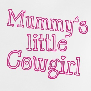 Mummy's little Cowgirl Baby shirts - Baby T-shirt