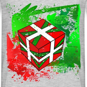 Ikurrina Cube Final T-Shirts - Men's T-Shirt