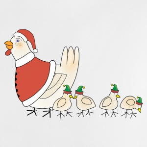 Christmas chicken t-shirt for babies - Baby T-Shirt