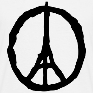 peace paris - Männer T-Shirt
