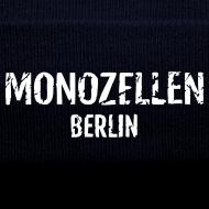 Motiv ~ Monozellen Wollmütze, blau