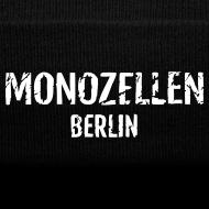 Motiv ~ Monozellen Wollmütze, schwarz