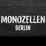 Motiv ~ Monozellen Wollmütze, grau