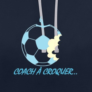 coach a croquer Sweat-shirts - Sweat-shirt contraste