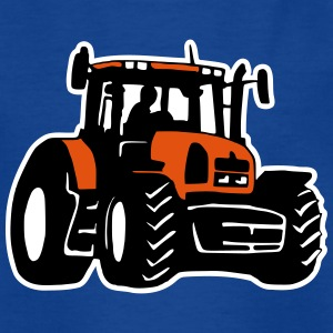 Traktor (3 color) T-Shirts - Kinder T-Shirt
