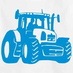 Traktor (1 color) T-Shirts - Kinder T-Shirt
