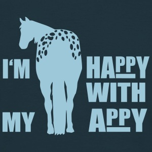 Happy with my Appaloosa T-shirts - T-shirt herr
